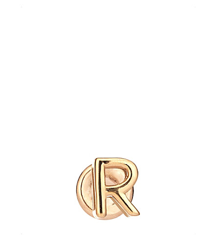 THE ALKEMISTRY Kismet by Milka R 14ct rose-gold earring (Rose+gold