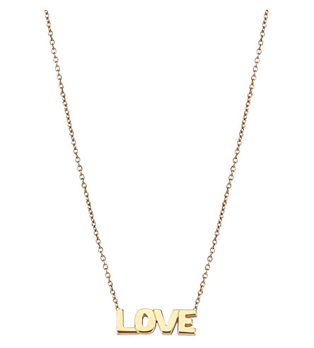 THE ALKEMISTRY Kismet by Milka Love 14ct rose-gold necklace (Rose+gold
