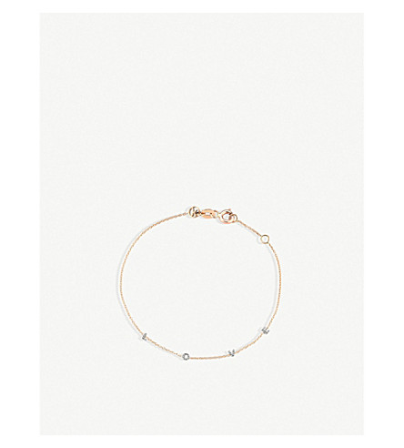 THE ALKEMISTRY Kismet by Milka Love 14ct rose-gold and diamond bracelet (Rose+gold