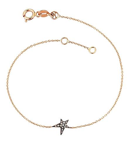 THE ALKEMISTRY Kismet by Milka champagne 14ct rose-gold bracelet (Rose+gold