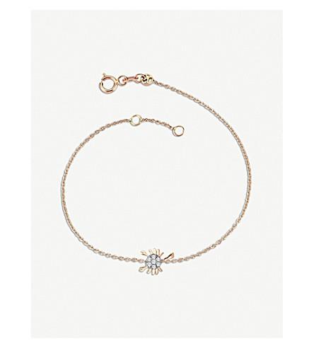 THE ALKEMISTRY Kismet by Milka 14ct rose-gold and diamond Scorpio bracelet (Rose+gold