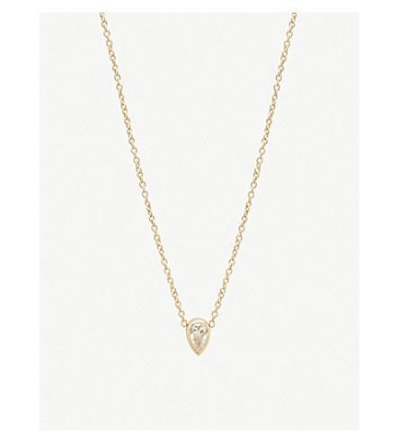 THE ALKEMISTRY Zoë Chicco 14ct yellow-gold and diamond choker necklace (Yellow+gold