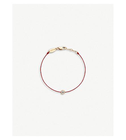 THE ALKEMISTRY REDLINE 18ct 玫瑰金和钻石手镯 (玫瑰 + 金色