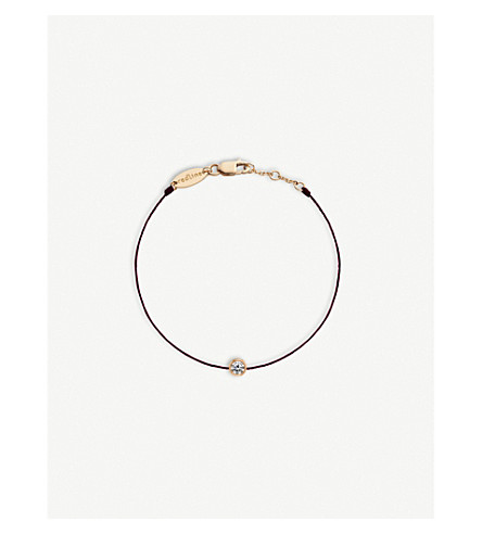 THE ALKEMISTRY Redline 18ct rose-gold and diamond bracelet (Rose+gold