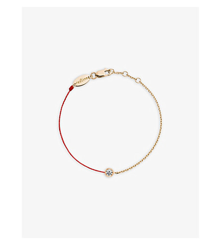 THE ALKEMISTRY Redline 18ct rose gold and diamond pure bracelet (Rose+gold