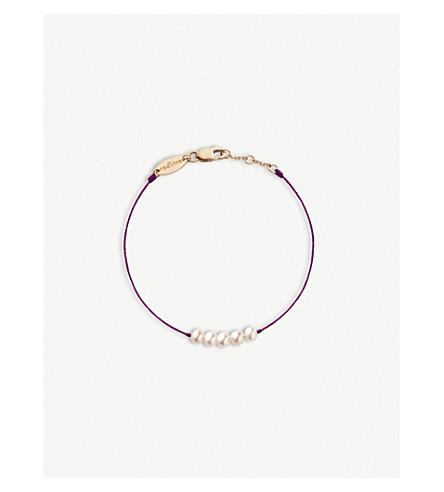 THE ALKEMISTRY Redline 18ct rose-gold and pearl bracelet (Rose+gold