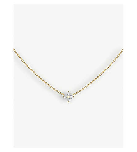 THE ALKEMISTRY Redline Shiny 18ct yellow-gold and diamond necklace (Yellow+gold