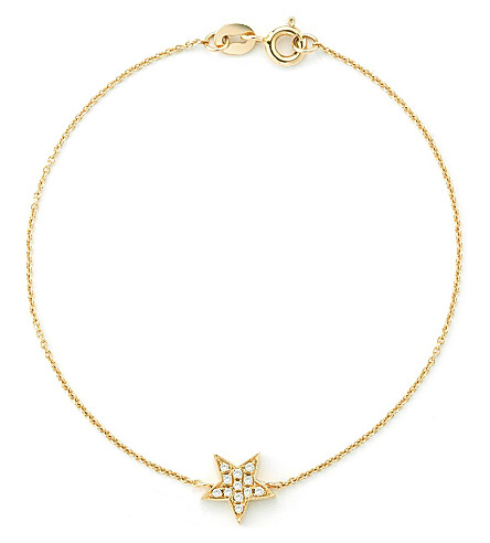 THE ALKEMISTRY Dana Rebecca Star 14ct yellow-gold bracelet (Yellow+gold