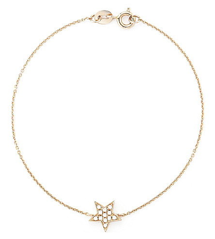 THE ALKEMISTRY Star 14ct yellow gold braclet (Rose+gold