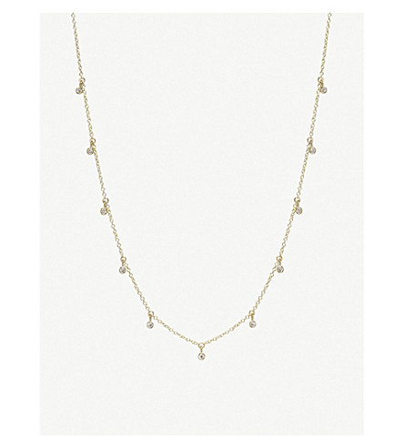 THE ALKEMISTRY Zoë Chicco 14ct yellow-gold and diamond necklace (Yellow+gold