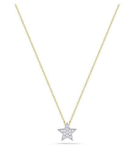 THE ALKEMISTRY Julianna Himiko 14ct yellow-gold and diamond necklace (Yellow+gold