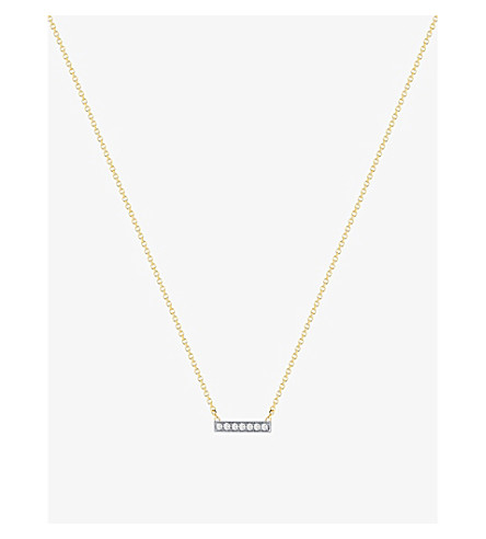 THE ALKEMISTRY Dana Rebecca 14ct yellow-gold and diamond necklace (Yellow+gold
