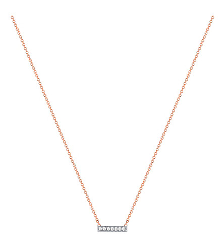 THE ALKEMISTRY Dana Rebecca 14ct rose-gold and diamond necklace (Rose+gold
