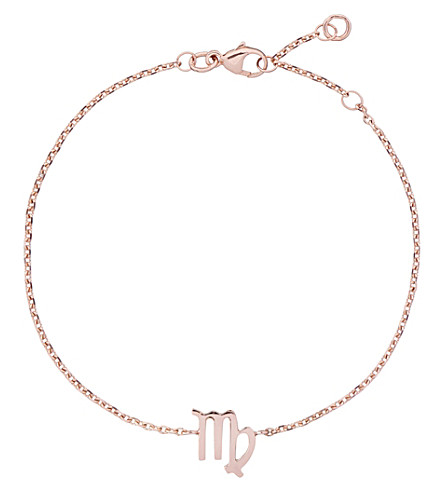 THE ALKEMISTRY Virgo 9ct rose gold bracelet (Rose+gold
