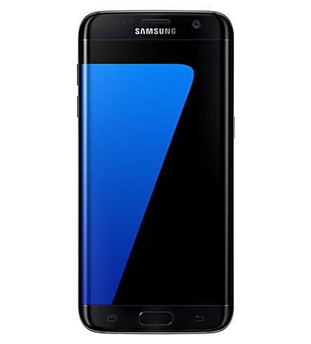 SAMSUNG 银河 S7 边缘智能手机 (黑色