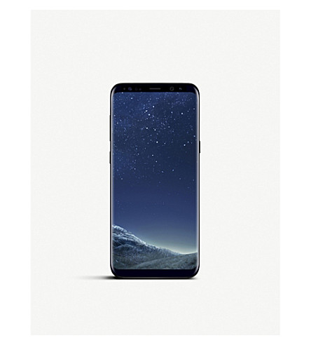 SAMSUNG Galaxy S8+ mobile phone (Black