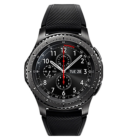 SAMSUNG Gear S3 Frontier watch (Black