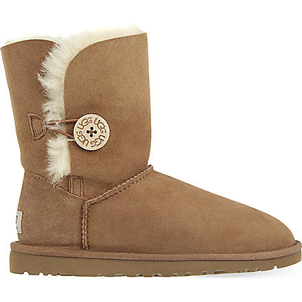 UGG Bailey Button sheepskin boots (Brown