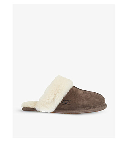 UGG Scuffette II slippers (Dark+brown