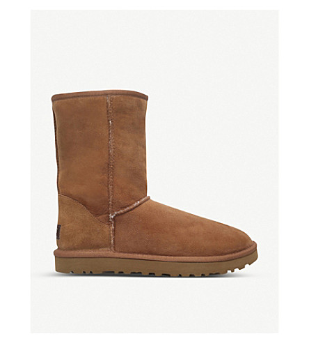 UGG Short sheepskin boots (Brown