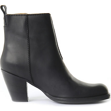 ACNE Pistol ankle boots (Black
