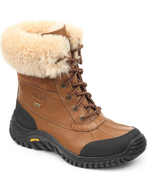 UGG Adirondack II lace-up leather boots