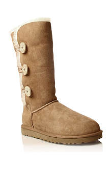 UGG Bailey Button Triplet sheepskin boots