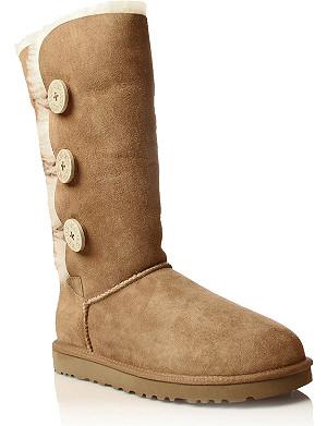UGG Bailey Button Triplet sheepskin boots