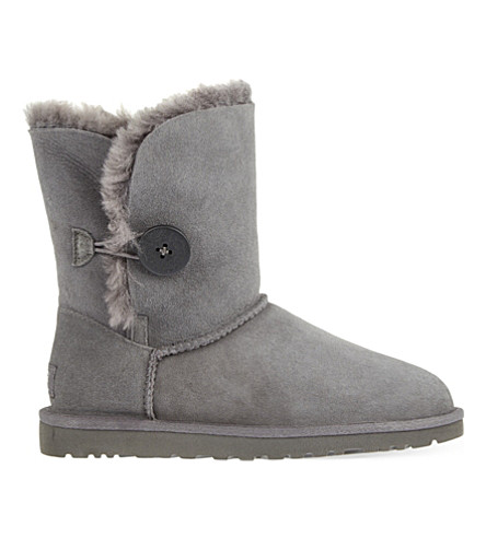 UGG Bailey Button sheepskin boots (Grey