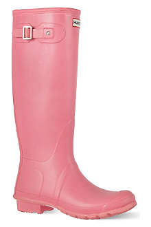 HUNTER Original vinyl wellies