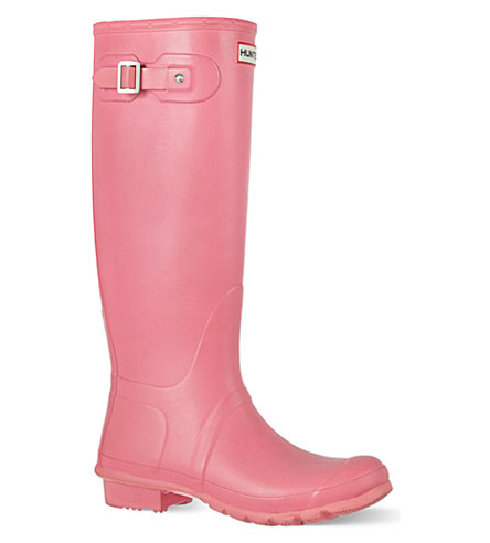 HUNTER Original vinyl wellies (Fushia