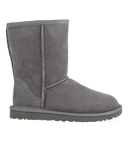 UGG Classic Short sheepskin boots (Grey