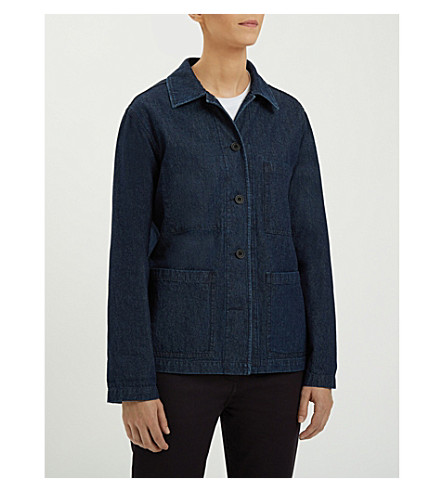 COMMUNITY CLOTHING Chore denim jacket (Indigo