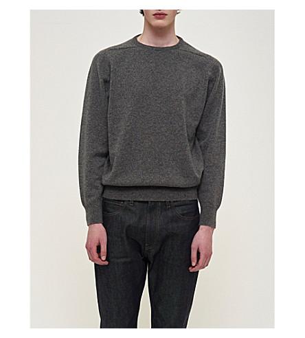 COMMUNITY CLOTHING Crewneck lambswool jumper (Grey