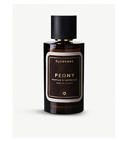 FLOWERBX FOR SELFRIDGES Peony room spray 100ml