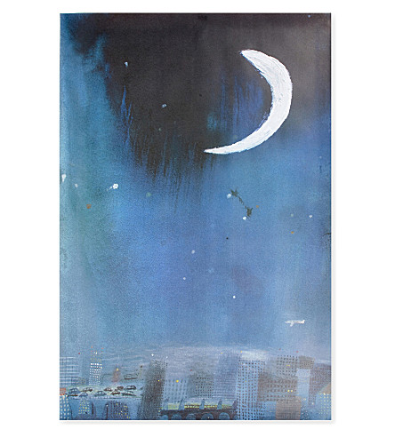 THE NEW CRAFTSMEN Night Sky Poster by Laura Carlin