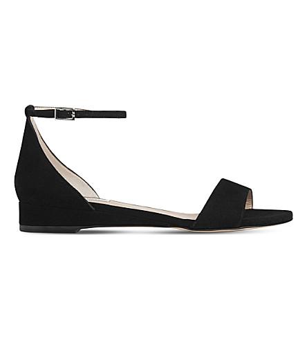 LK BENNETT Cai suede sandals (Bla-black