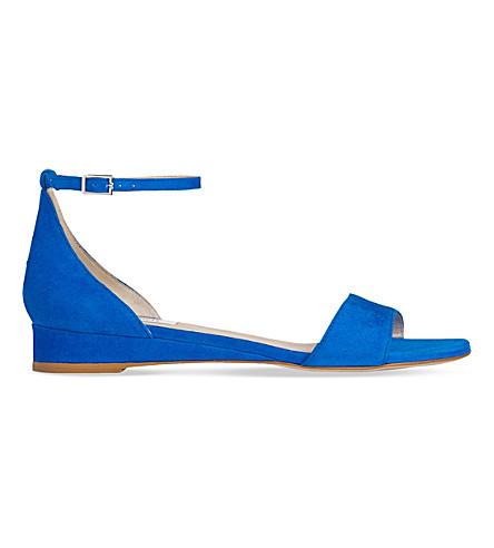 LK BENNETT Cai suede sandals (Blu-majorelle
