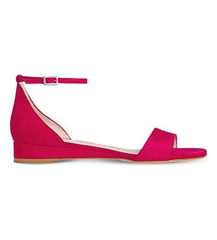 LK BENNETT Cai suede sandals (Pin-azalea