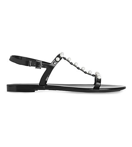 LK BENNETT Freja jelly sandal (Bla-black