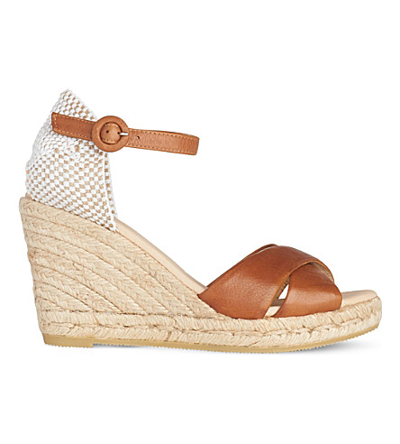LK BENNETT Angele espadrille wedge (Bro-tan