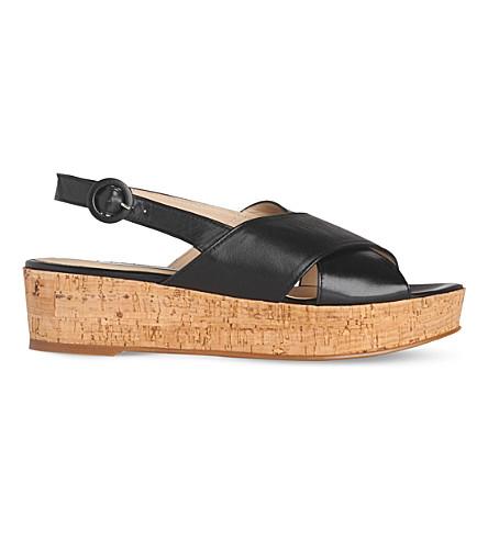 LK BENNETT Klara platform sandal (Bla-black