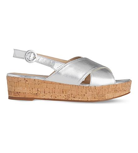 LK BENNETT Klara platform sandal (Sil-silver