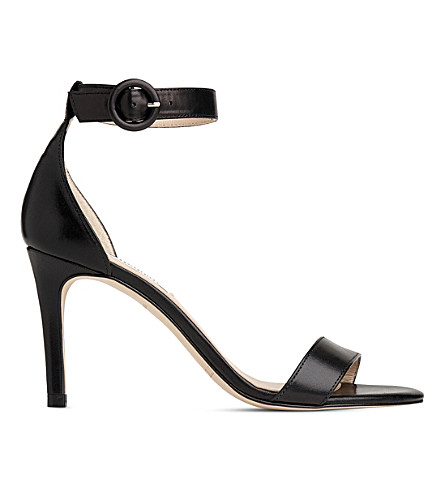 LK BENNETT Dora leather high heel sandals (Bla-black
