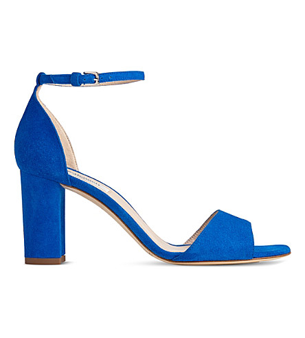 LK BENNETT Helena suede sandals (Blu-majorelle