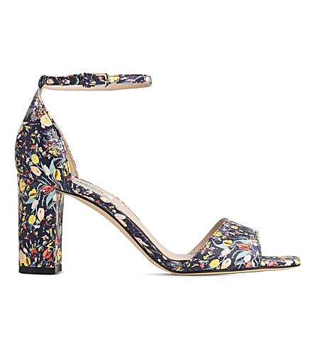 LK BENNETT Helena floral leather sandals (Pri-multi