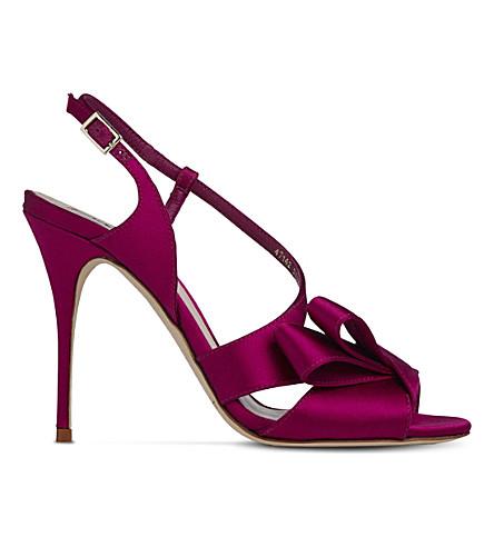 LK BENNETT Erica asymmetric sandals (Pin-fuchsia