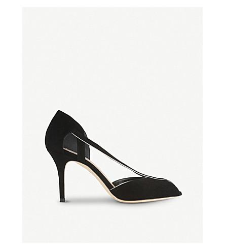 LK BENNETT Liya suede sandals (Bla-black