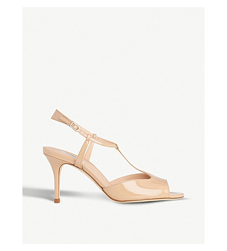 LK BENNETT Quinn patent-leather sandals (Bei-trench