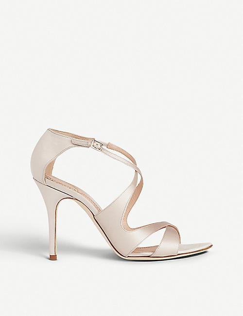 69d34682cff LK BENNETT LK Bennett x Jenny Packham Brielle satin heeled sandals